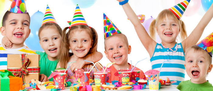 Tips for planning kids parties